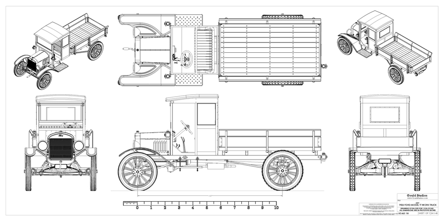 ford pickup trailer del schaltplan